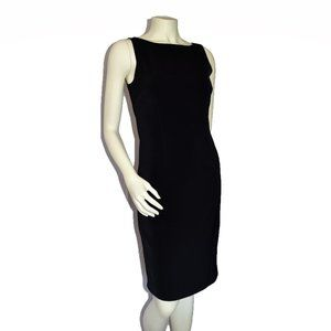 White House Black Market Little Black Sheath Dress